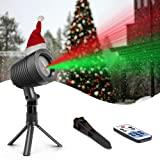 Christmas Laser Lights Landscape Projector Lights Outdoor Waterproof Laser Lamp for Halloween Outdoor Garden/Yard (Color: Laser)