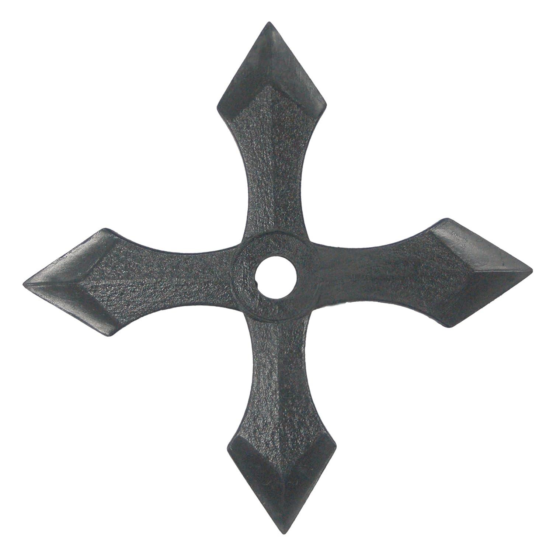 Ninja Rubber Gear Throwing Star/ Dagger wheel throwing