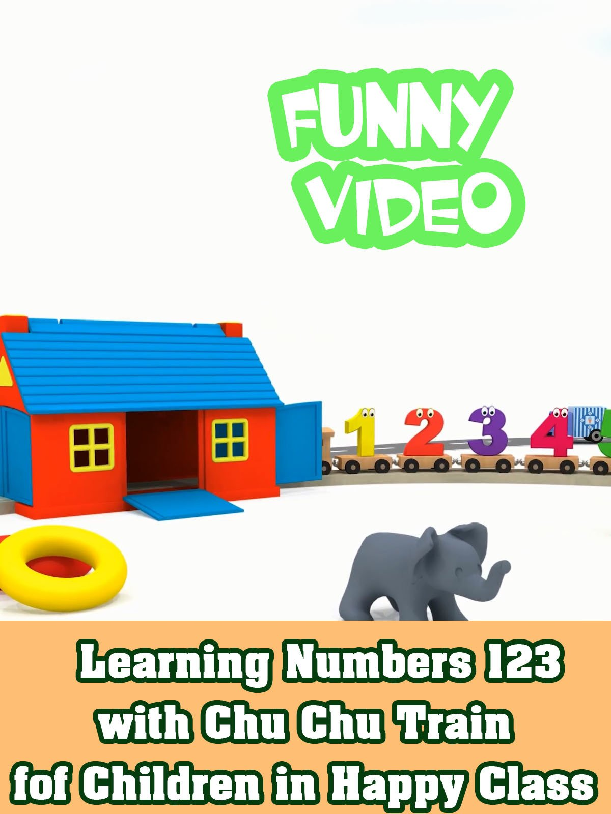Learning Numbers 123 with Chu Chu Train fof Children in Happy Class