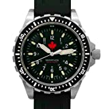 MARATHON WW194018 JSAR Swiss Made Military Issue Jumbo Diver's LGP Watch with MaraGlo Illumination and Sapphire Crystal (Maple - Rubber Strap) (Color: Maple - Rubber Strap)