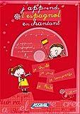 echange, troc Jeanette Loric - J'apprends l'espagnol en chantant ; Album + CD Audio