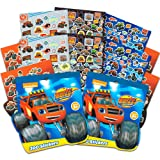 Blaze and the Monster Machines Party Supplies Stickers Pack ~ 600 Assorted Blaze Stickers (16 Party Favors Sheets) (Color: Blaze and the Monster Machines, Tamaño: Party Supplies)