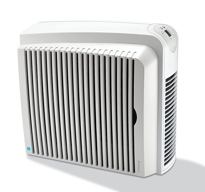 Holmes True HEPA Air Cleaner and Odor Eliminator with Digital Display for Large Spaces, HAP756 via Amazon