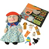 There was an Old Lady Who Swallowed a Fly Puppet, Props, Book Set
