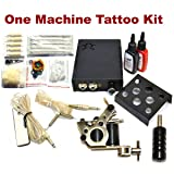 INTRO TO Tattoo Kit / 1 Tattoo Machine - Power Supply / 2 INK / Needles / PLUS Accessories