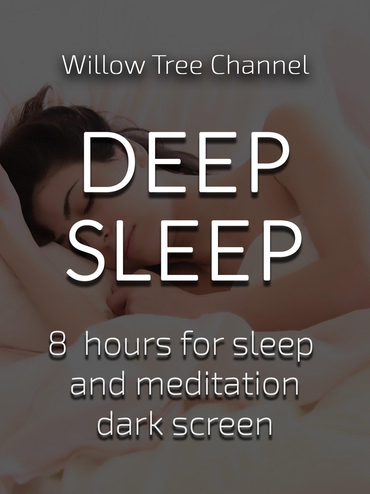 Deep sleep, 8 hours for Sleep and Meditation, dark screen