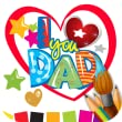 Fathers Day Coloring by Hexasolutions.Inc