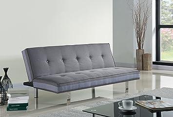 Sofas Lovechairs im Arbeitszimmer Schlafsofa Couch Sofabett Grau