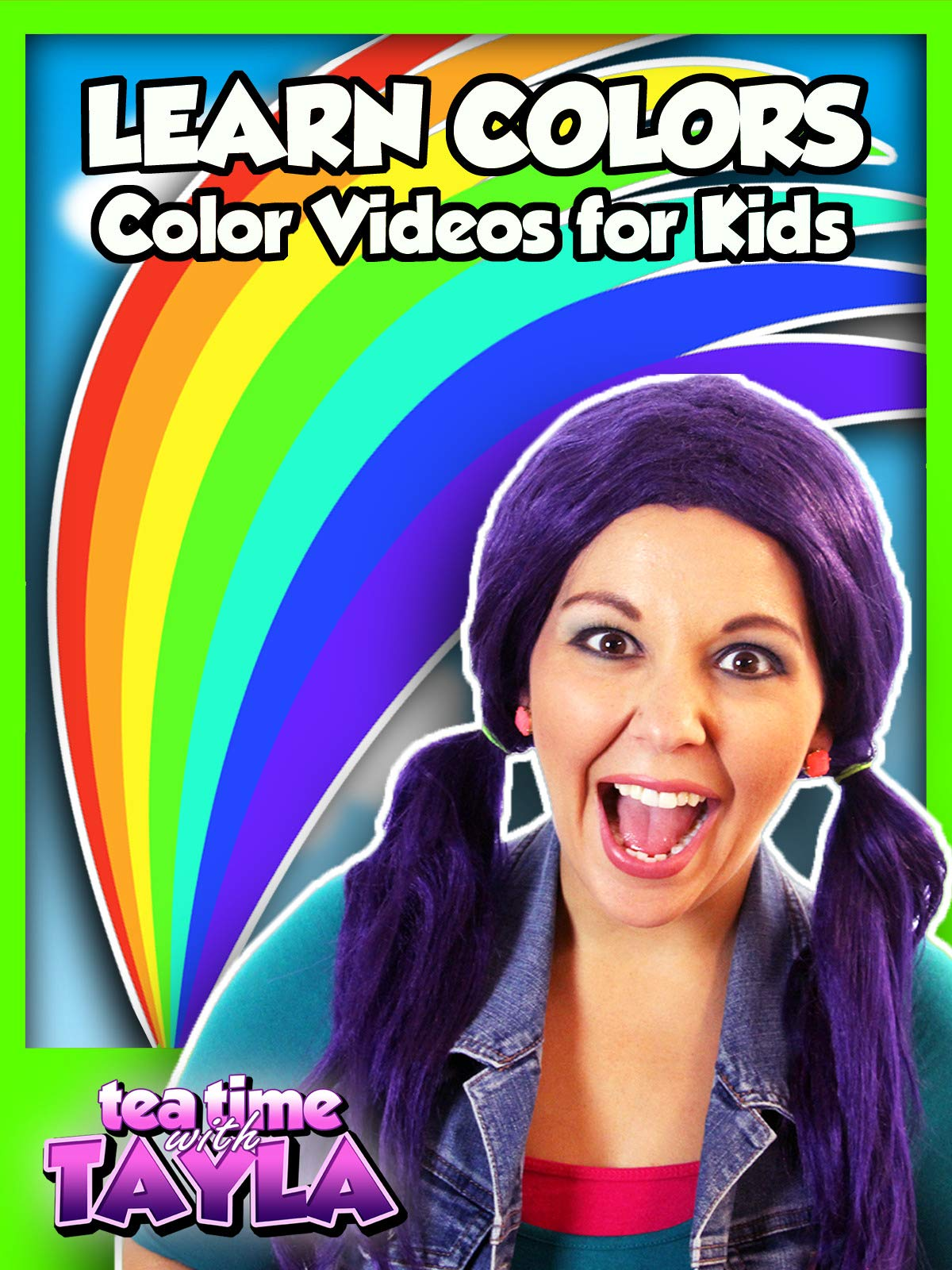 Tea Time with Tayla: Learn Colors - Color Videos for Kids