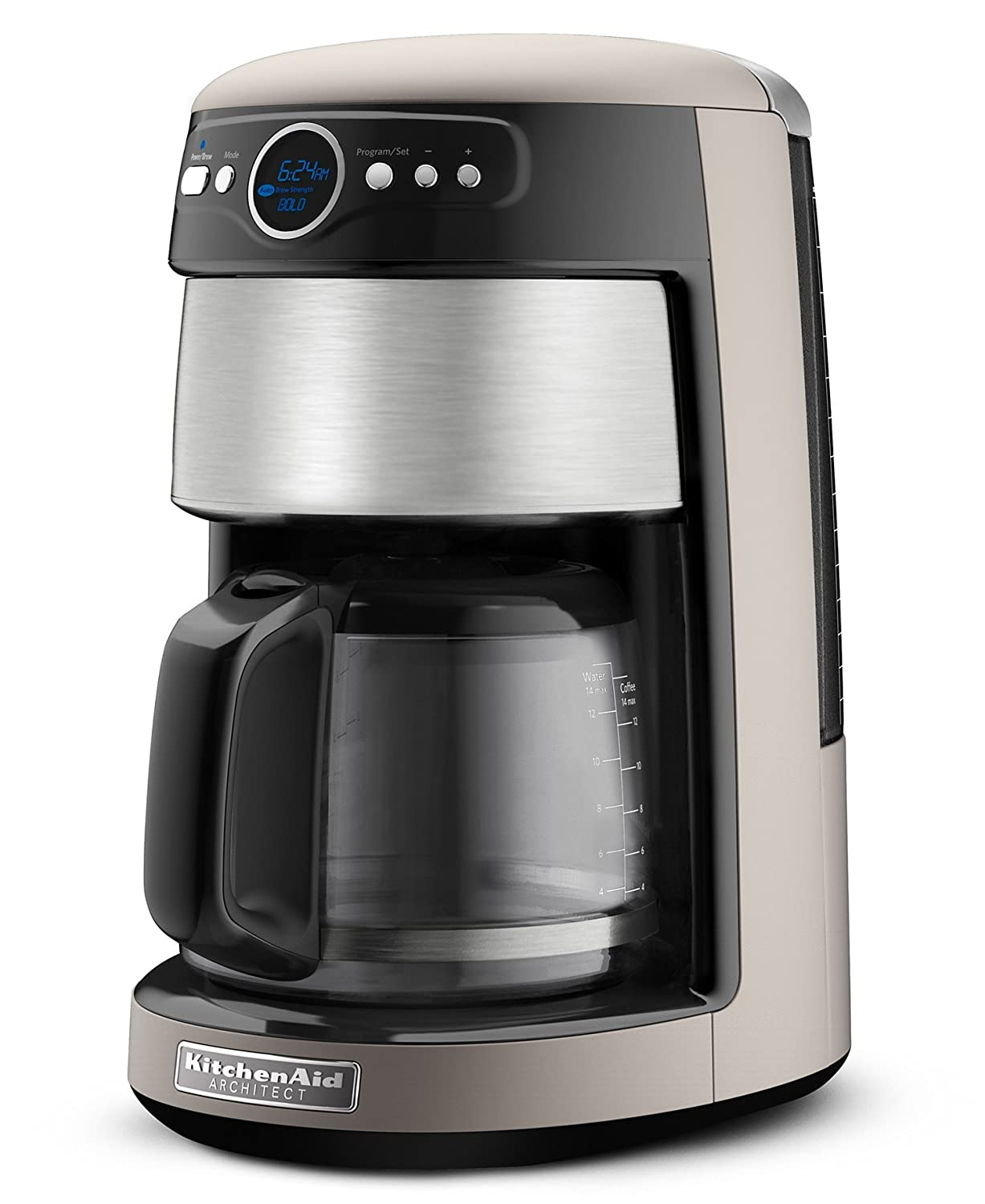KitchenAid Coffee Maker KCM222CS: The 14 Cup Device for Optimum Flexibility