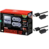 Nintendo Super Entertainment System SNES Classic Edition with Two 6-ft. Extension Cable