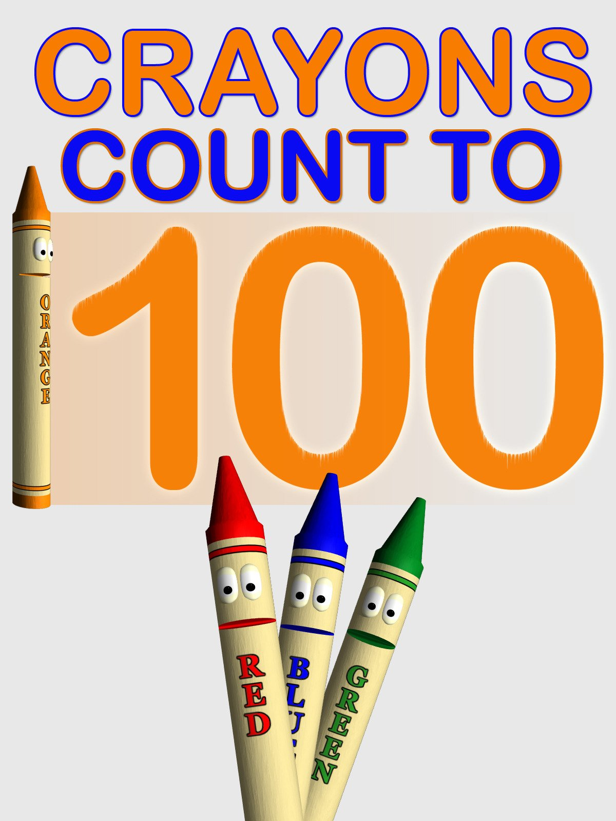 Crayons Count to 100 on Amazon Prime Instant Video UK