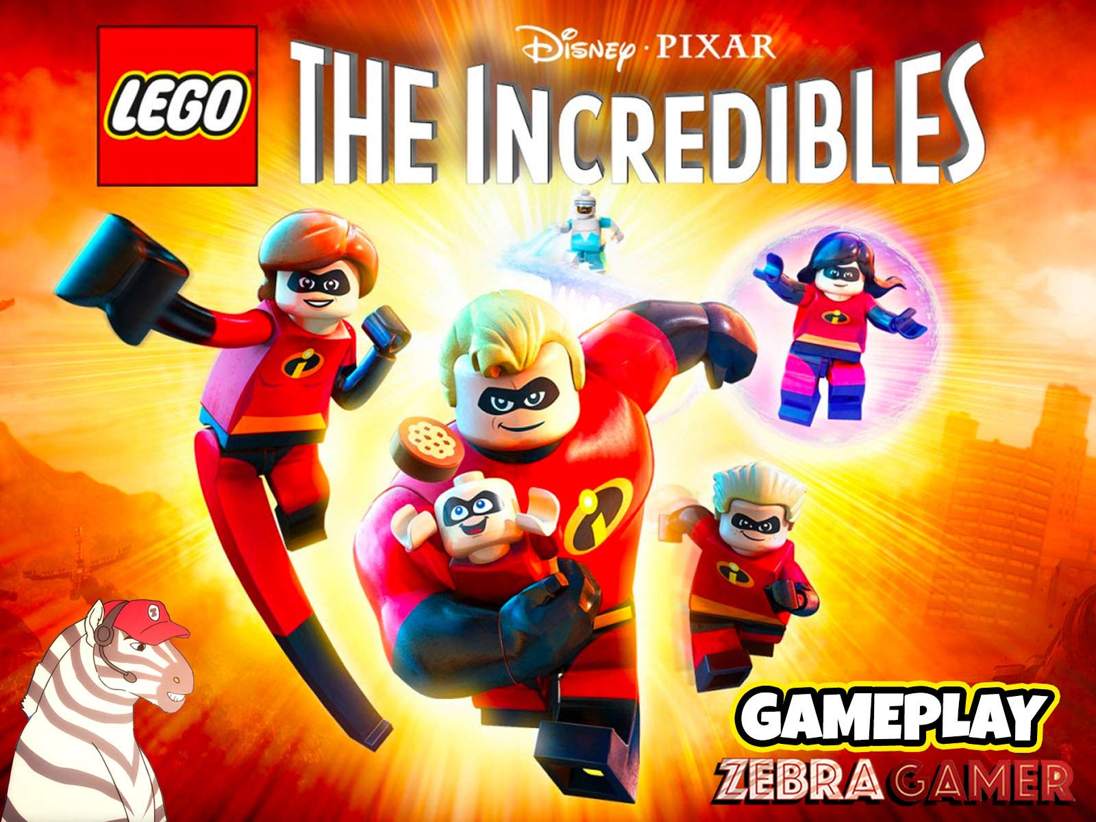 Clip: Lego The Incredibles Gameplay - Zebra Gamer - Season 1
