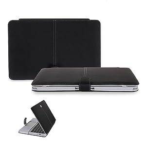 CaseCrown CAS9087 maletines para portátil - Funda (330.2 mm (13 ), Cubrir, Negro, 330 mm, 229 mm, 25 mm) Monótono  Informática revisión y más información