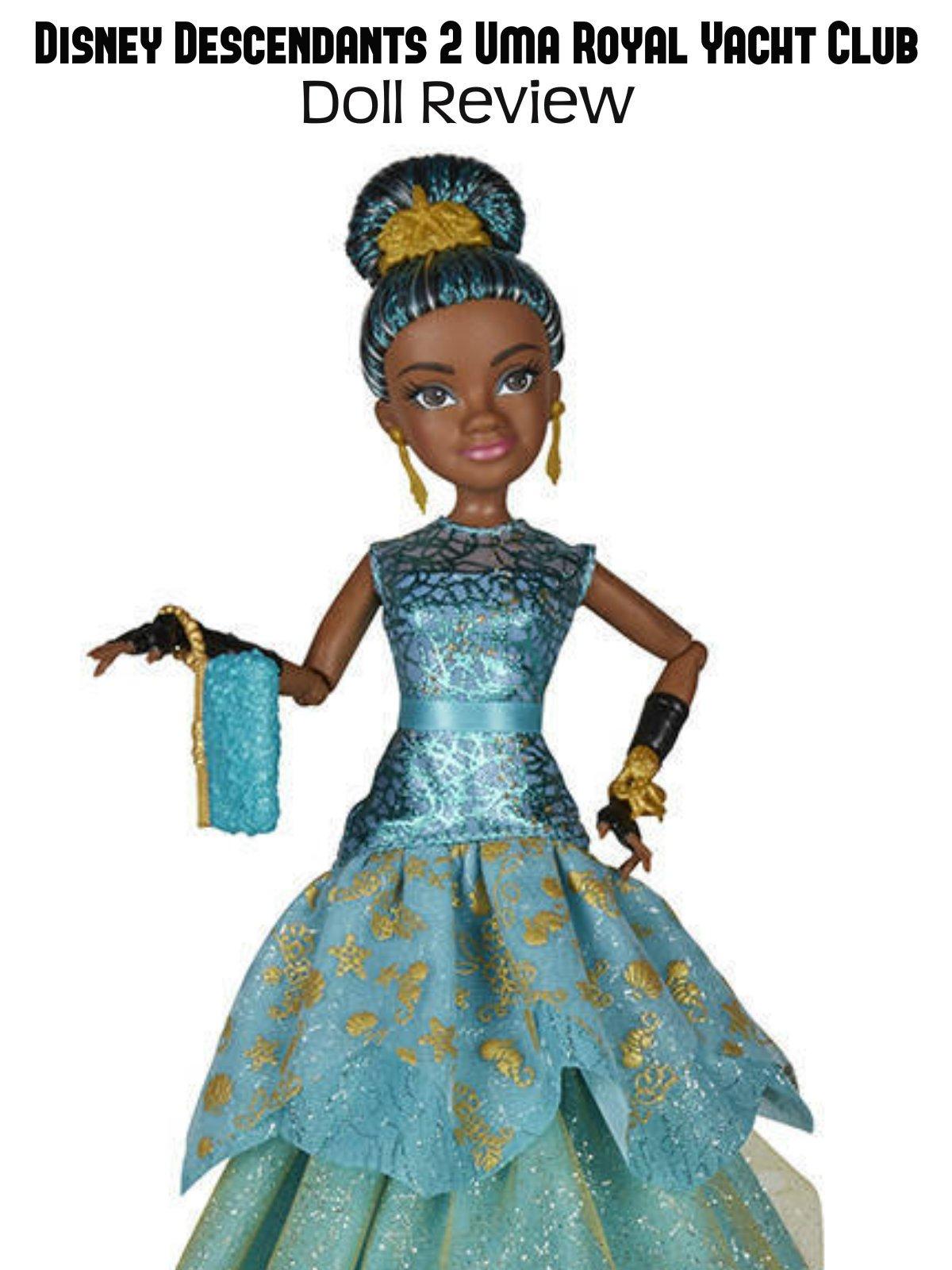 Review: Disney Decendants 2 Uma Royal Yacht Club Doll Review on Amazon Prime Video UK