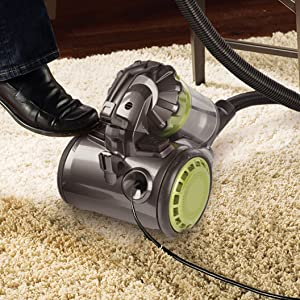 Eureka AirExcel Compact No Loss of Suction Canister Vacuum review