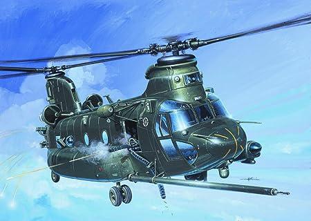 Italeri - I1218 - Maquette - Aviation - MH-47E Soa Chinook - Echelle 1:72