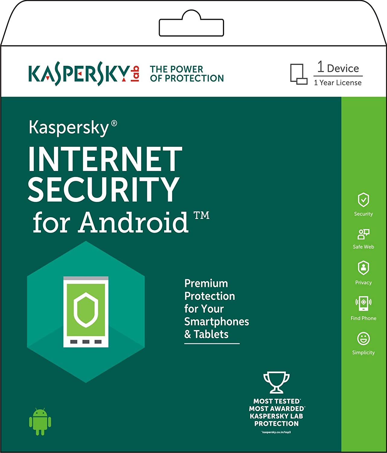 Deals on Kaspersky Internet Security for Android