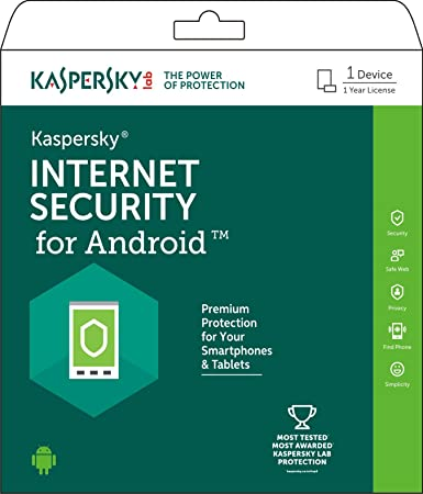 Kaspersky Internet Security for Android - 1 Device, 1 Year ...