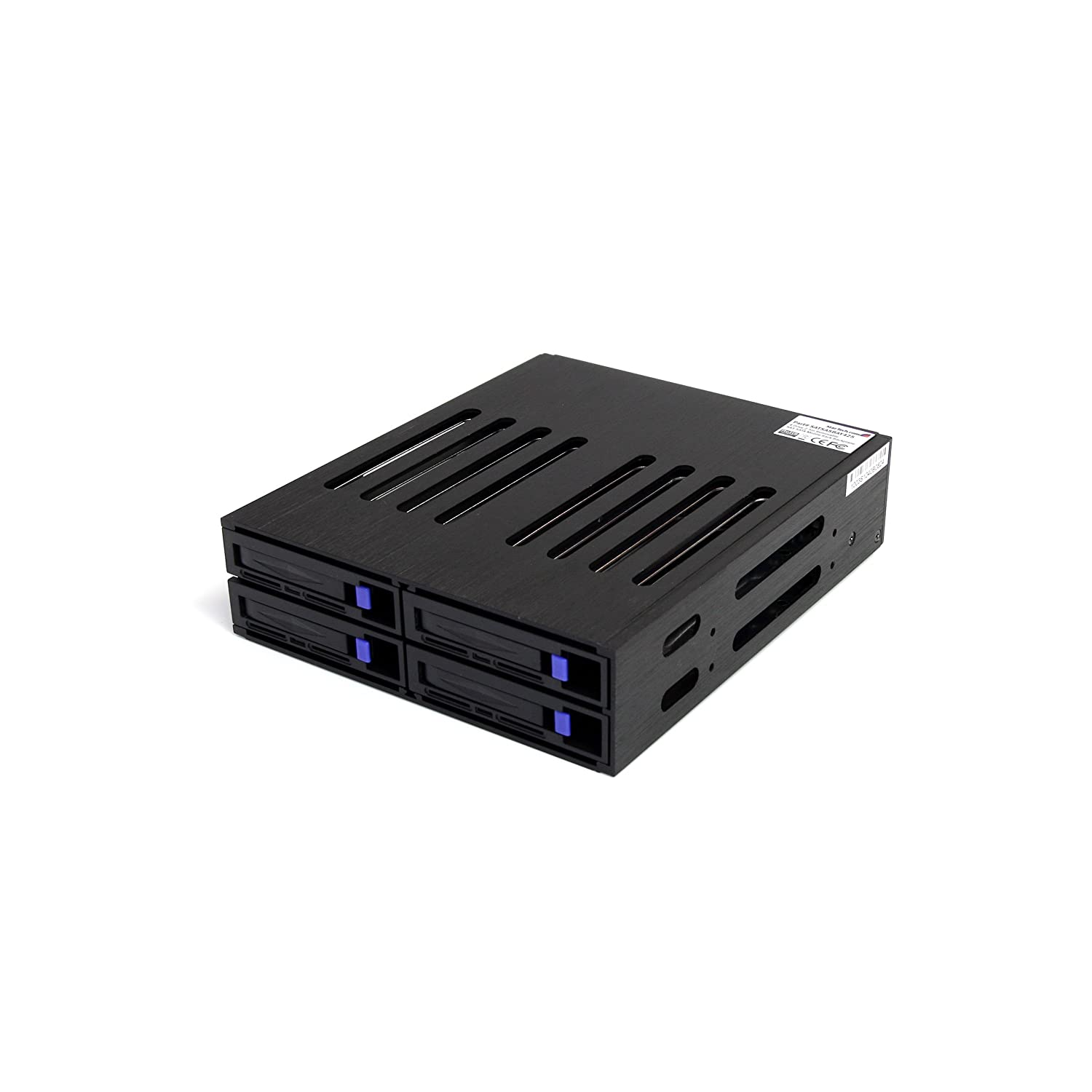 Via Amazon.com StarTech 4 port SAS / SATA enclosure