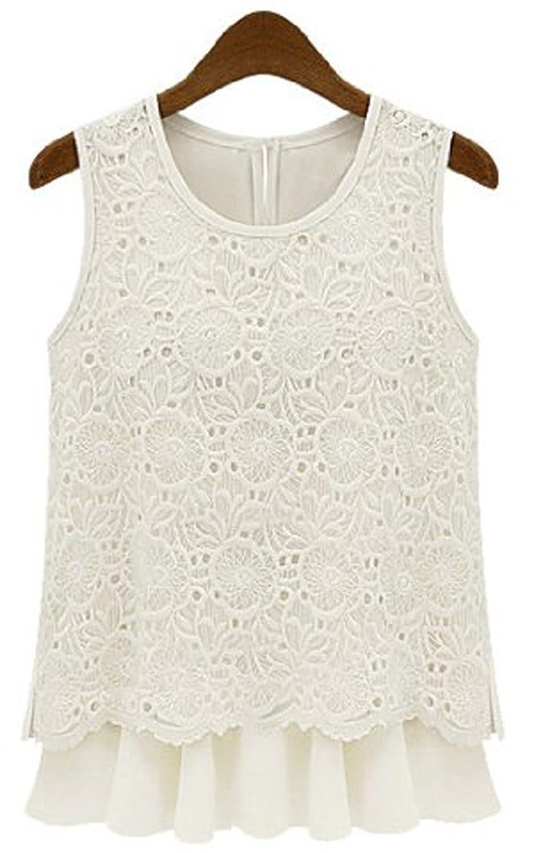 (アールポート) R-port レディース 刺繍 デザイン タンクトップ : 服&ファッション小物通販 | Amazon.co.jp