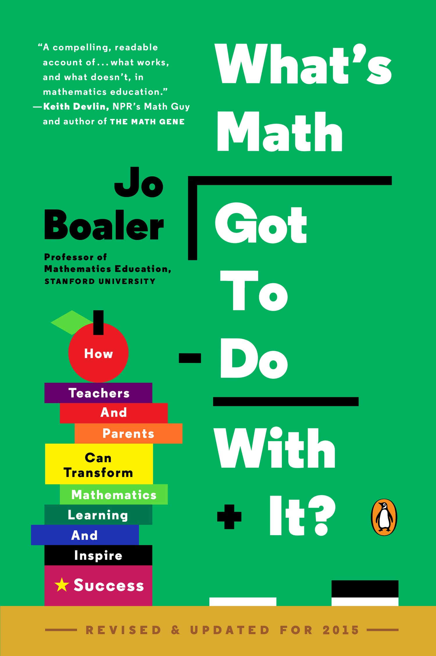 Review: Boaler (2015) – What\'s Math Got to Do With It? – Math Fireworks