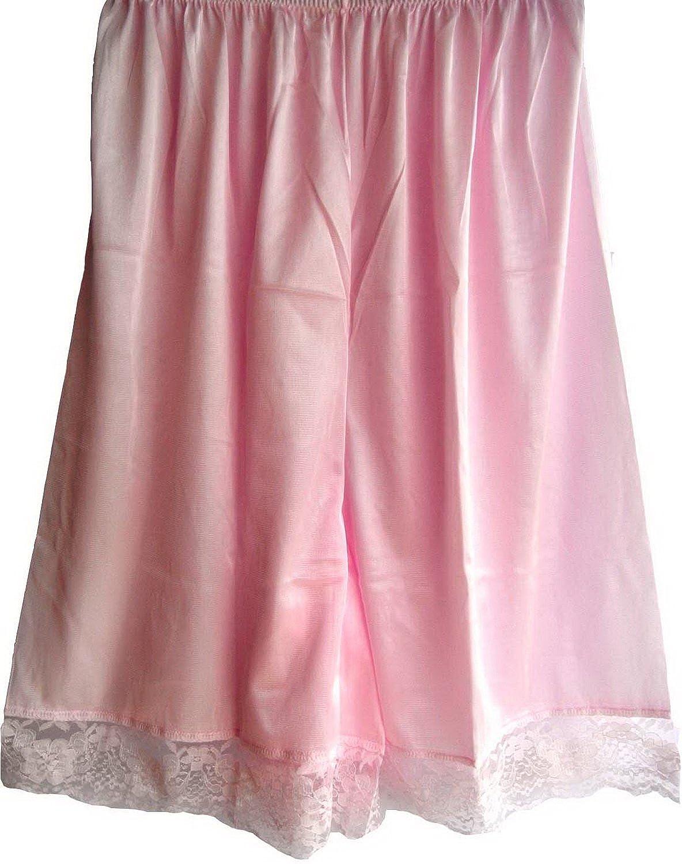 Damen Nylon Halb Slips Neu UPPNPK PINK Half Slips Women Pettipants Lace online bestellen