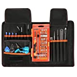 Computer Cellphone Repair Tools Kits,PC Precision Screwdriver Set,SOUCOLOR 78 in 1 Magnetic Driver Kit with Portable Case for iPad, iPhone 8/8 Plus, Tablets, Laptops, PC, Smartphones, Watches (Color: 78 in 1)