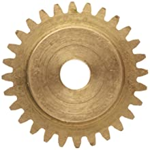 Boston Gear Brass Spur Gear, 32 Pitch, Brass, Inch, 32 Pitch