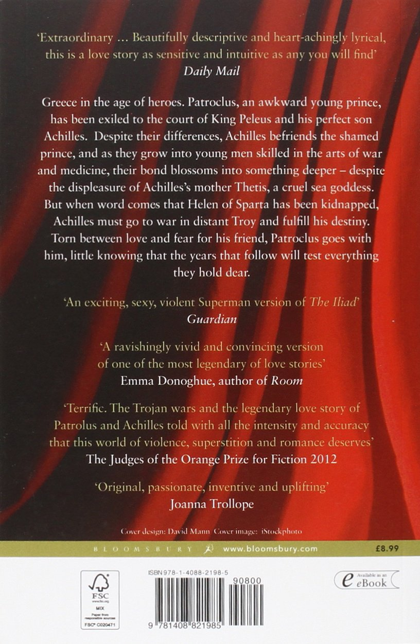 Buy The Song Of Achilles Book Online At Low Prices In India  The Song Of  Achilles Reviews & Ratings  Amazon