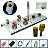 Glass Bottle Cutter kit , Adjust full sized Bottle Cutter DIY Cutting Machine Wine Bottles and Beer Bottles Cutting Tool -DIY YOU OWN BOTTLE SYTLE AND YOUR OWN SIZES (Upgrade Version)