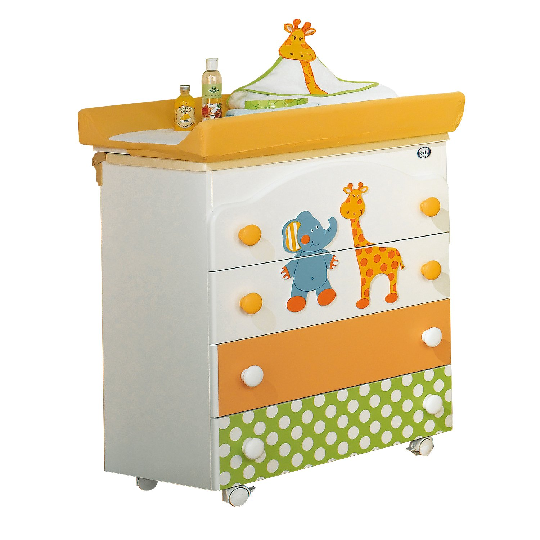 Pali Bade-Wickelstation inkl. Baby Badewanne + Wickelauflage Gigi & Lele online kaufen