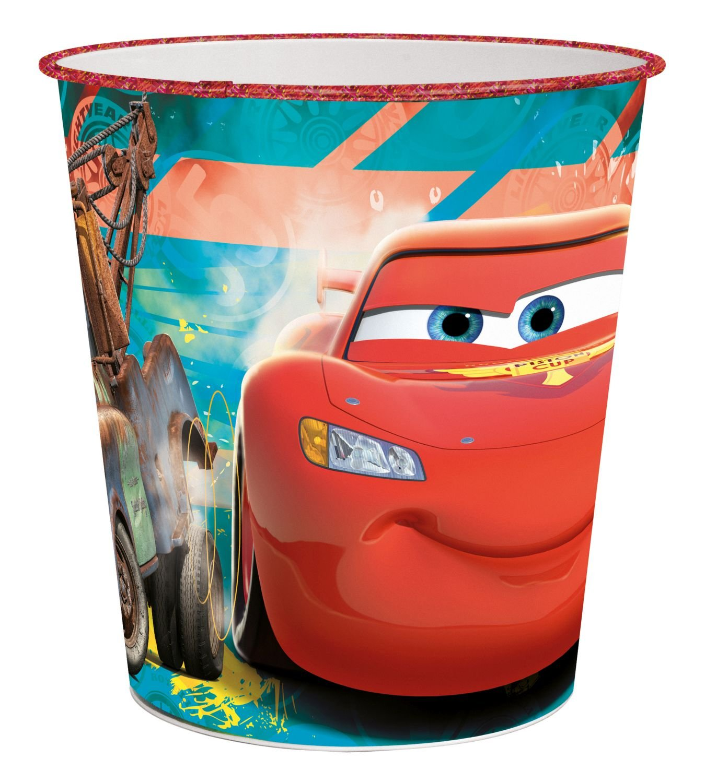 p:os 24687 Papierkorb Disney Cars, circa 22,6 x 21 cm, Kunststoff jetzt bestellen