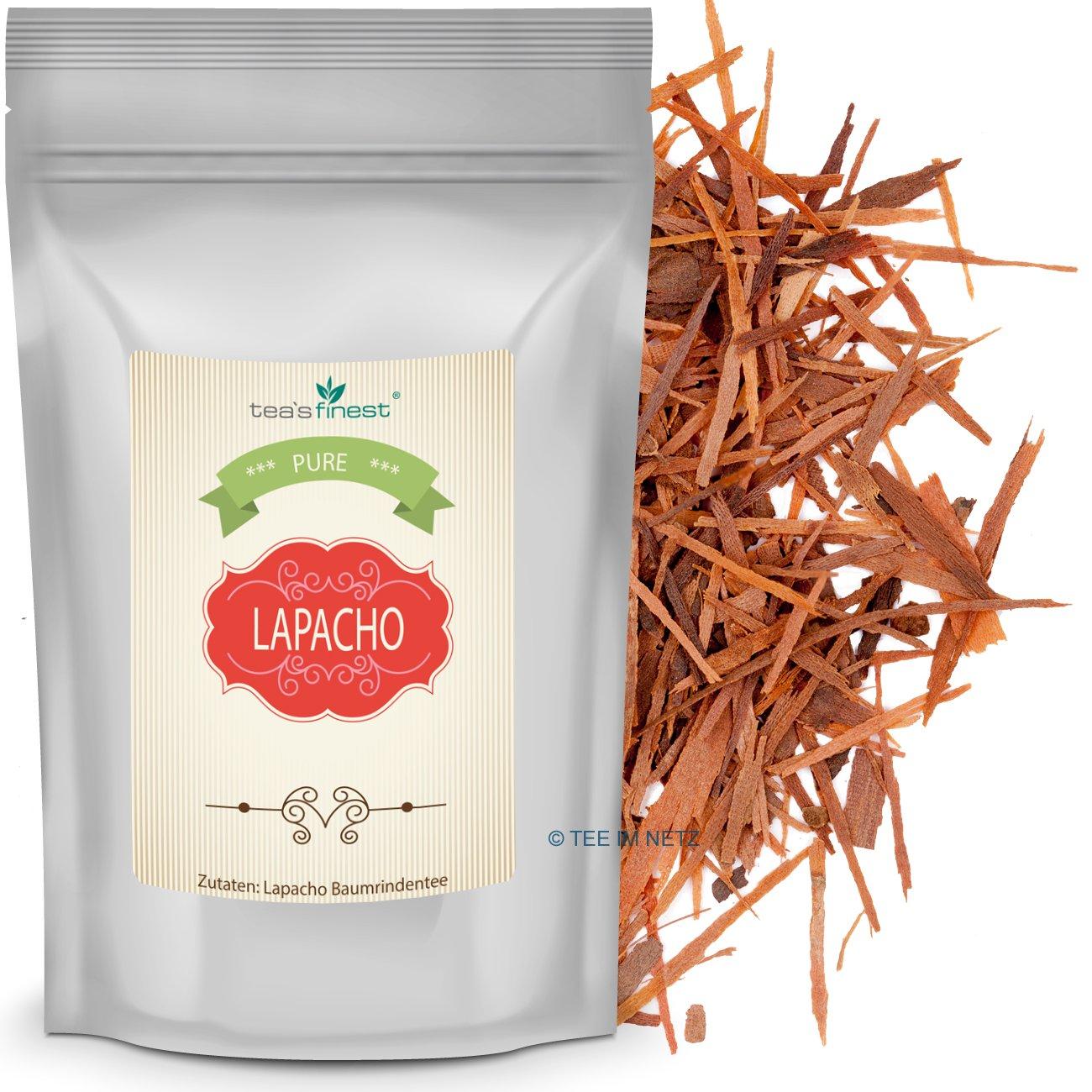 Vorschaubild: Lapacho Baumrindentee, 100% innere rote Rinde aus nachhaltigem Anbau (500 Gramm)