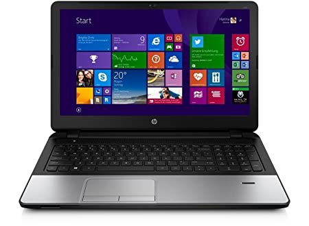 HP 350 G1 P3558U 15.6 4GB 500GB W8 PC Portable 15,6'' Argenté (Intel Pentium, 4 Go de RAM, 500 Go, Intel HD Graphics, Windows 8.1)