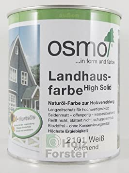 osmo landhausfarbe wei 750 ml baumarkt. Black Bedroom Furniture Sets. Home Design Ideas