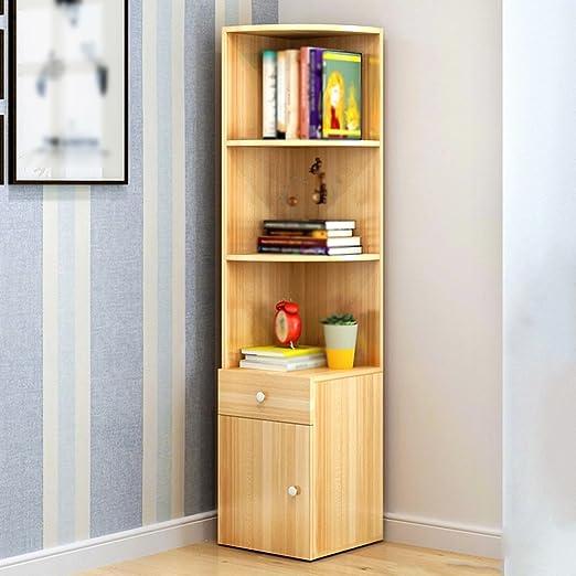 TH Scaffale multifunzionale di scaffale di atterraggio semplice di scaffale di studio di scaffale di studio del salotto semplice e moderno ( Colore : Style-3 , dimensioni : S. )