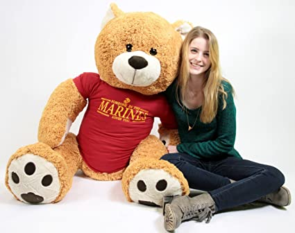 Usmc Teddy Bear Big Plush Giant Teddy Bear