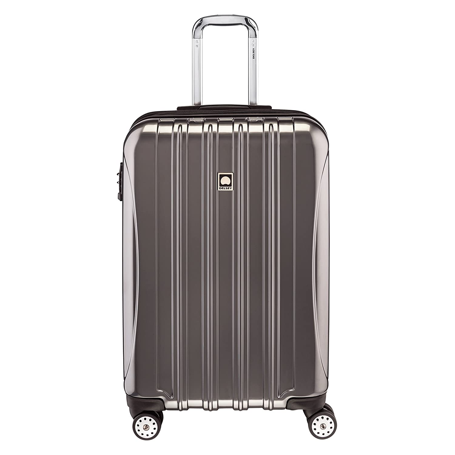"Delsey Luggage Helium Aero Expandable Spinner Trolley (25"")"
