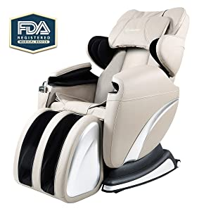 Real Relax Zero Gravity Shiatsu Massage Chair Recliner width=