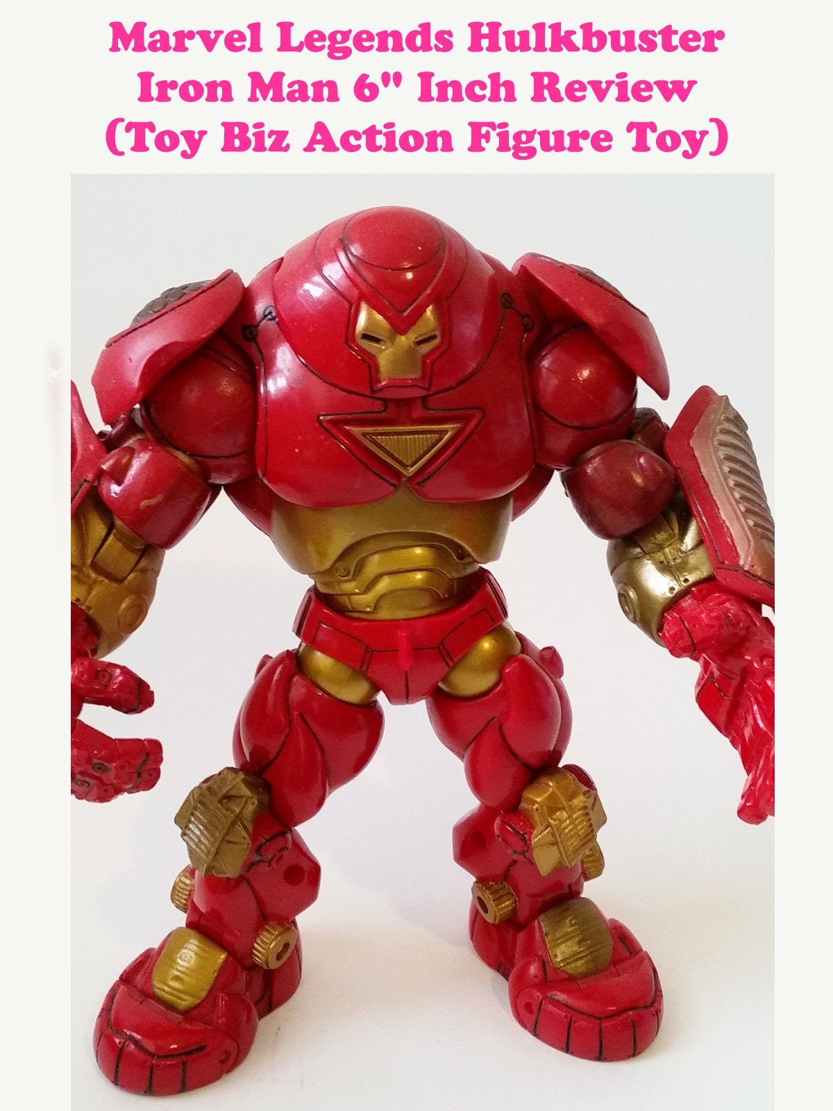 "Review: Marvel Legends Hulkbuster Iron Man 6"" Inch Review (Toy Biz Action Figure Toy)"