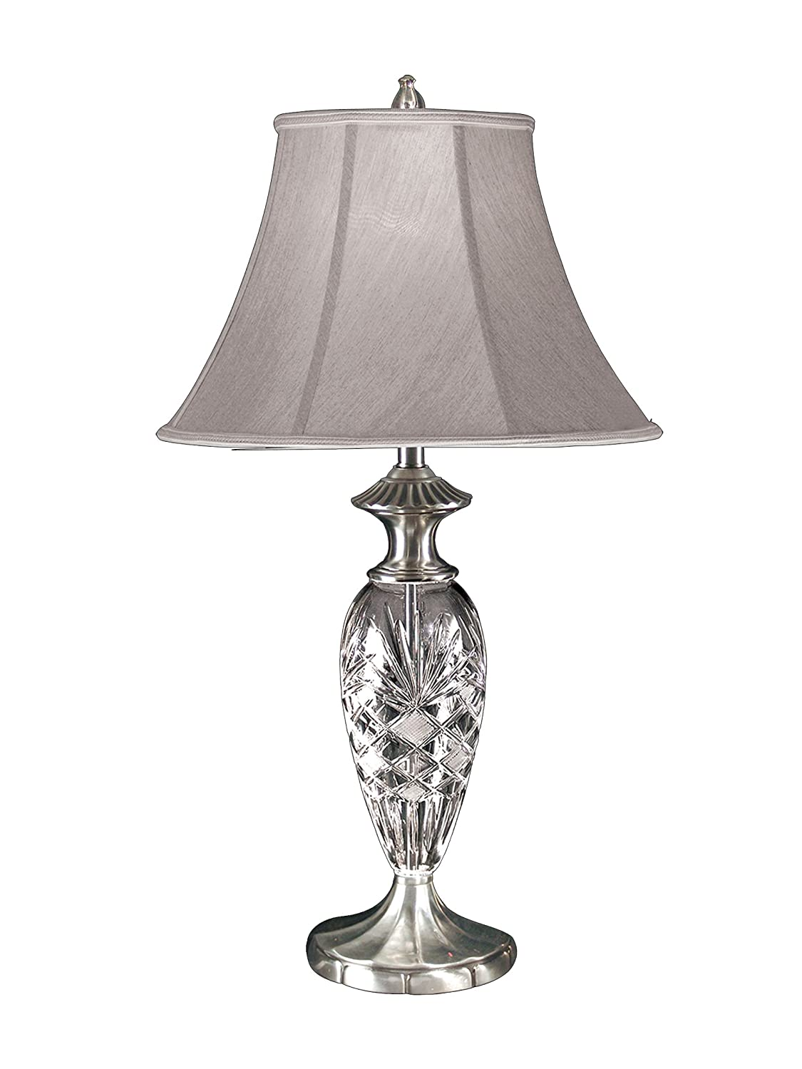 Dale tiffany gt80117 britney crystal table lamp antique pewter and dale tiffany gt80117 britney crystal table lamp antique pewter and fabric shade aloadofball Gallery