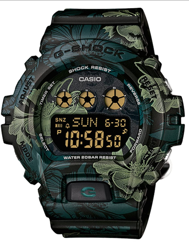 CASIO G-Shock S Series Floral Pattern Unisex Watch GMDS6900F-1 smeg lgm 861 s 2