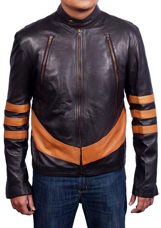 Men's Xman Wolverine Sheep Soft Leather Jacket günstig kaufen