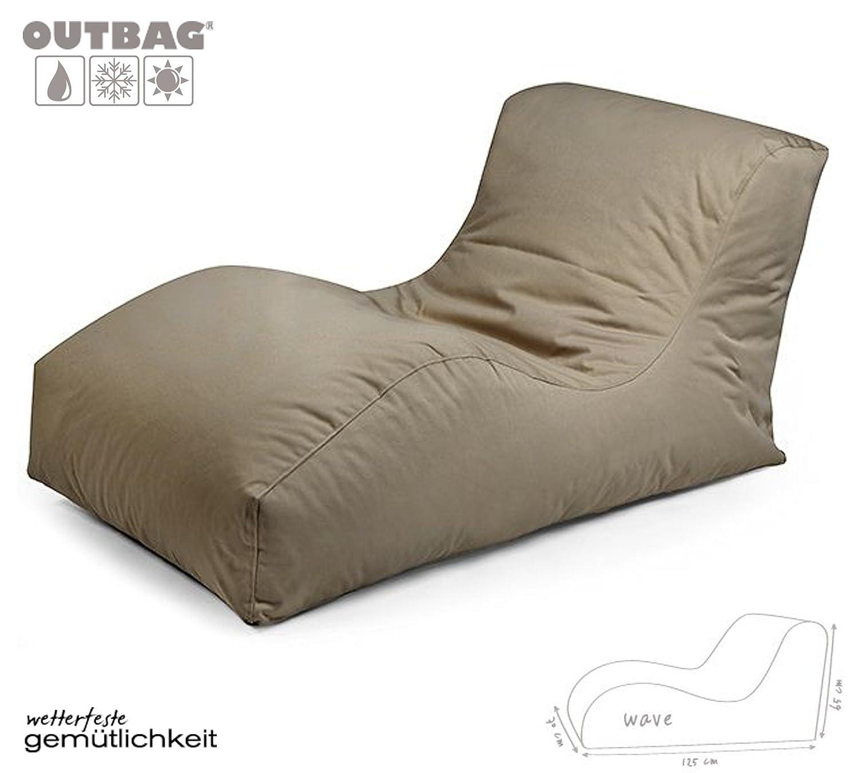 Sitzsack Outbag Wave Kollektion Plus in Schlammfarben günstig bestellen