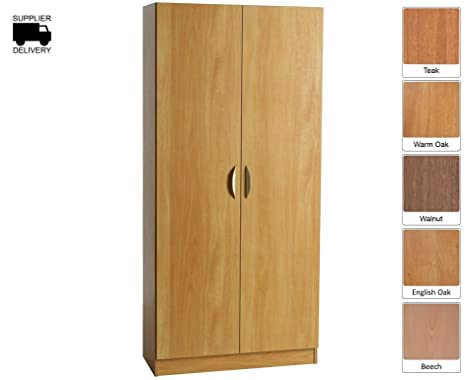 R White High Level Cupboard H-C85 H1828xW850xD370mm - Color: Teak