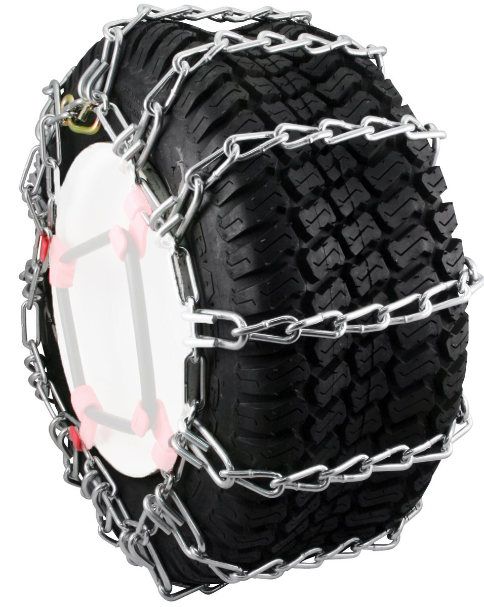 Lawn Tractor Tire Chains : Security chain company max trac snow blower garden