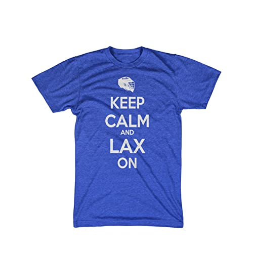 Keep Calm Lax On Lacrosse shirt