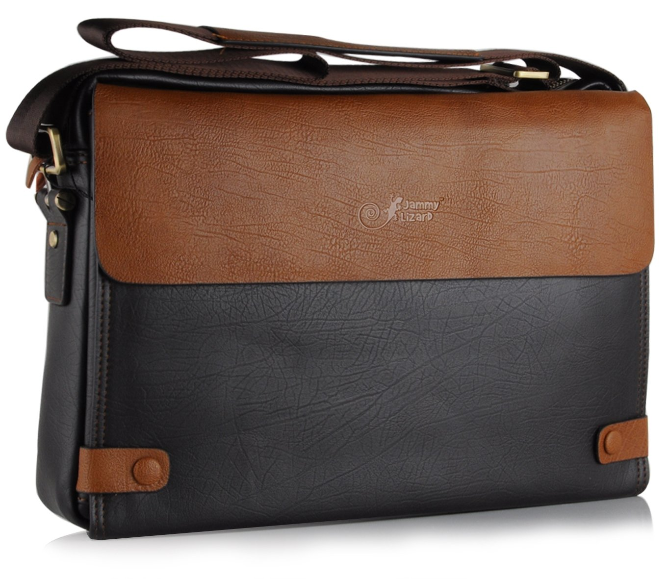 Brown Leather Laptop Travel Bag Case Cover Satchel forCustomer reviews