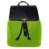 2019 Newest Honeycomb Drawstring Backpack For Women,Soft Lightweight Backpack Breathable Mesh Backpack (Color: Honeycomb Fabic Green, Tamaño: Medium)